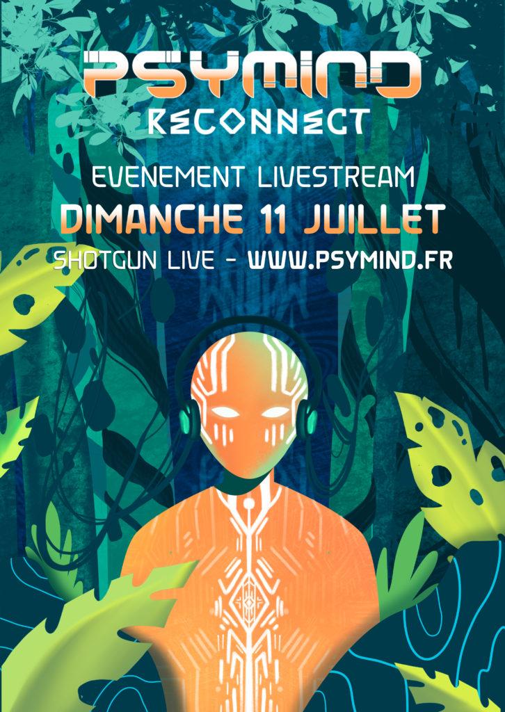 Affiche Psymind Reconnect